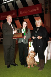 Chelsea Hickford, aged 18 from Brentford, was the recipient of the Shaun McAlpine Outstanding Young Person Over 18 Years award