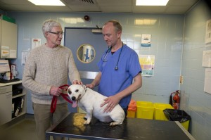 Gromit with Paul O'Grady and Shaun Opperman - high res available